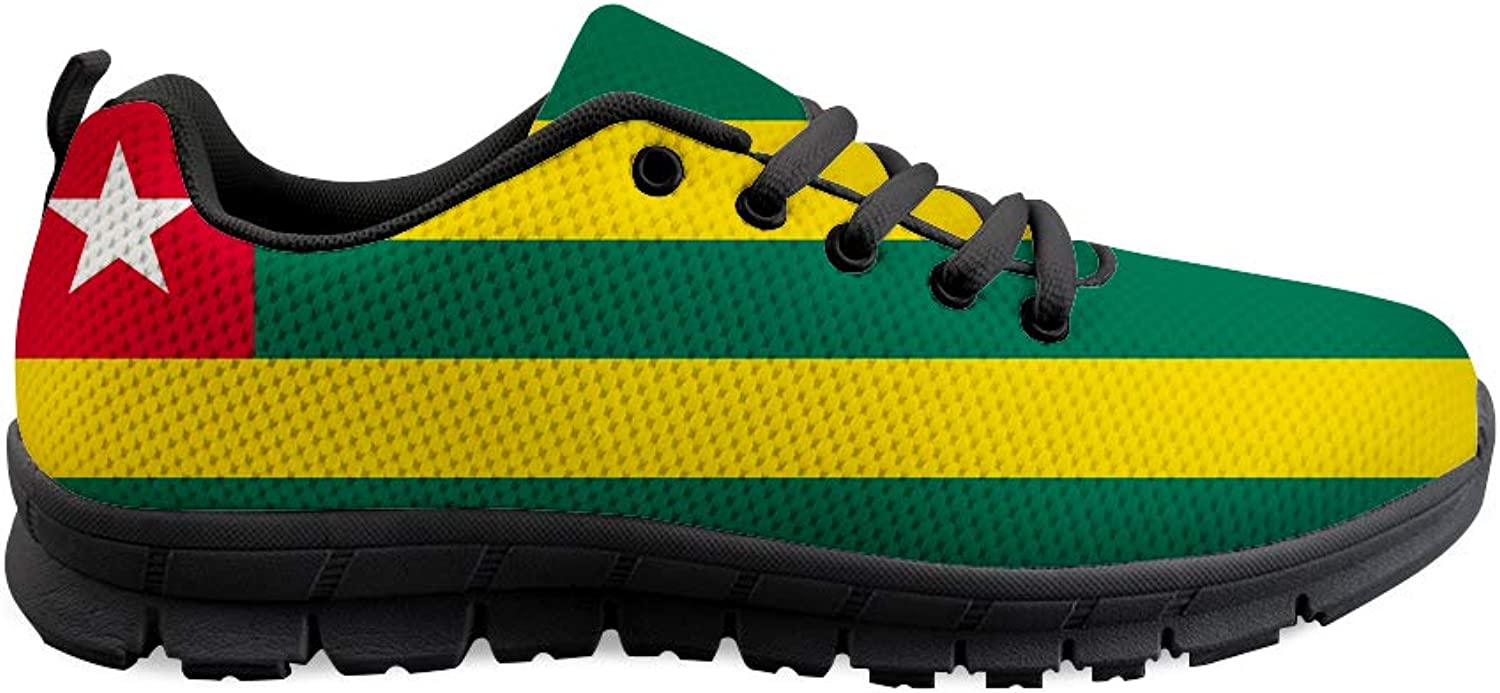 Owaheson Lace-up Sneaker Training shoes Mens Womens Togo Flag