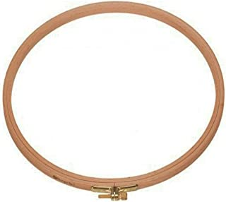 Natural Beech Wood Round Quilt Embroidery Hoop with 8 Different Sizes (13cm - 5 ¹/₈ in)