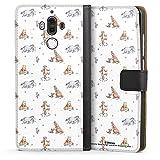 DeinDesign Étui Compatible avec Huawei Mate 9 Étui Folio Étui magnétique Winnie l'ourson Disney...
