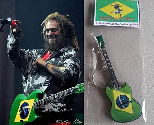 Schlüsselanhänger Gitarre Esp Mc600 Max Cavalera Sepultura