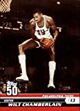 2007-08 Topps 50th Anniversary Basketball #45 Wilt Chamberlain