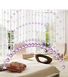 Purple Glass Crystal Beads Curtain 1M 15pcs