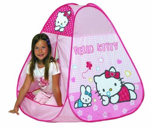 D'Arpège - Plein Air - Tente Pliable Hello Kitty - Dimensions 90x90x90 cm