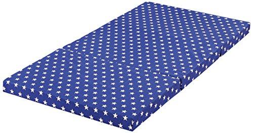 Bambini 086603Niños Colchón de viaje Star, color azul