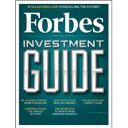 Forbes, November 22, 2010 audiobook cover art
