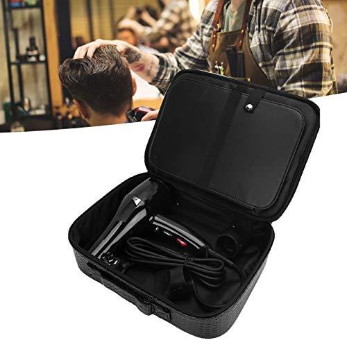 Bolsa de herramientas de peluquero, múltiples bolsillos Estuche de herramientas de viaje para estilizar el cabello Estuche de peluquero profesional para suministros de peluquería para