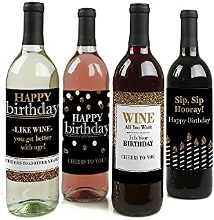 Best birthday wine labels Reviews
