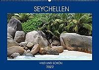 Seychellen - Wild und Schoen (Wandkalender 2022 DIN A2 quer): Erleben Sie die Inseln der Seychellen in ihrer vollen Pracht (Monatskalender, 14 Seiten )