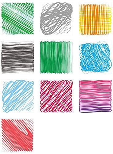 Pegatinas Azulejos Decorativos Bricolaje A Prueba Agua Para Cocina, 10 Piezas Papel Aluminio Autoadhesivo Azulejos, Pegatinas Piso Arte Pared Colores, Fondo Azulejo Pared Extraíble, 20X20cm