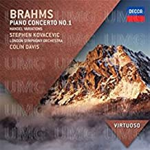Brahms Pno Concerto No.1 Handel Variations