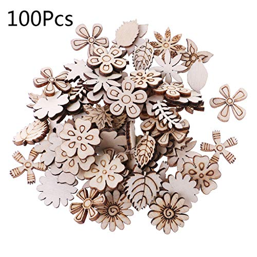 ❤Material: wood ❤Quality: 100Pcs/Set