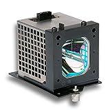 HFY marbull UX21518/LP520Replacement Lamp w/Carcasa para Hitachi 50C2050C20A Proyector
