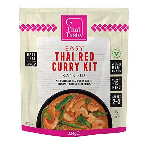 Thai Taste - Easy Thai Red Curry Kit - 224g (Case of 6)