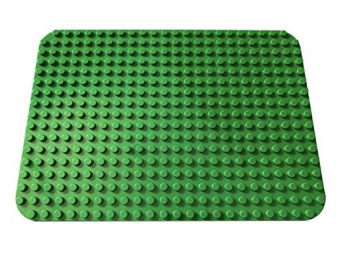 Apostrophe Games Große Baustein-Grundplatten, die mit Allen gängigen Marken kompatibel sind (1x Grün)
