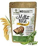 Multi-Millet Rusk - Curry Leaf - No Maida or Sugar No added flavours Preservative Free - Pack of 3 (100gm each)