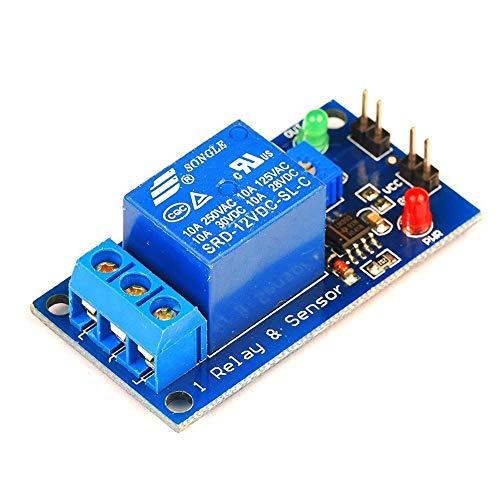 Módulo electrónico Módulo de Sensor de relé sin Cabeza de Sensor, Pin 12V de Soldadura