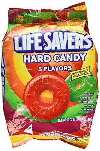 Lifesavers de Wrigley 5Sabor Bulk bolsa (1- 41oz. Bolsa, Aprox. 292piezas)