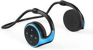 سماعات رأس لاسلكية فوق الأذن 3.5 ملم سماعات رأس سلكية للألعاب فوق الأذن سماعات موسيقى رياضية مع ميكروفون مدمج للتحكم في ال...