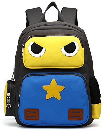 ArcEnCiel Kid's Backpack (Yellow and Blue)