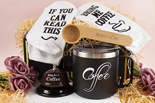 Coffee Lover Gift, Gifts for Coffee Lovers Women, Coffee Gift Basket, Coffee Gifts for Women Men,Coffee Gifts Box, Gift for Coffee Lover