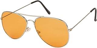 check out 746f1 d306e Arzonai Classics Aviator Silver-Orange UV Protection Sunglasses For Men    Women  MA-