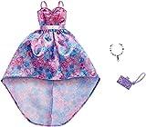 Barbie Vestido Noche de Flores Mattel FXJ17   Moda Ropa de la Muñeca