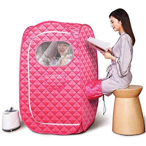 ZYQDRZ Faltbare Home-Dampfsauna, Sauna-Zimmer-Badezimmerzelt, Kann Das Persönliche Gewicht Reduzieren, Einschließlich Fernbedienung, SPA-Gewichtsabnahme-Maschine