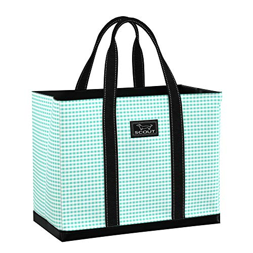 SCOUT Original Deano Tote, Large Utility Tote Bag for Women, Extra Large, Lightweight, Water Resistant Travel Beach Bag, and Pool Bag with Collapsible, Foldable Design Featured in Barnaby Checkham