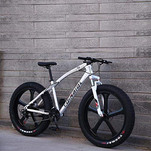 Bicicleta de montaña para adultos, bicicleta de crucero con marco de acero...