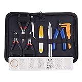CHSEEO Kit de Fabricación de Joyas Herramientas de Hallazgos de Joyería, Kit de Accesorios de Joyería para Hacer Bisuteria Collares Pulseras #1