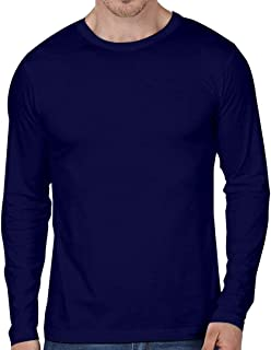 T-Shirts Round Neck Cotton Full Sleeve
