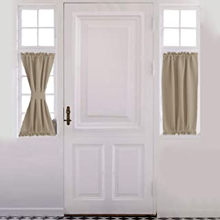 Aquazolax Blackout Door/Window Curtain for Privacy - Blackout Curtains 25