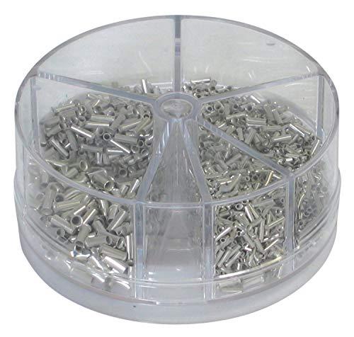 Aderendhülsen-Streudose unisoliert 0,5 - 2,5 mm2
