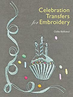 Celebration Transfers for Embroidery