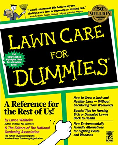 Compare Textbook Prices for Lawn Care for Dummies 1 Edition ISBN 0785555550773 by Walheim, Lance