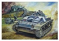 ドラゴン 1/72 第二次世界大戦 ドイツ軍 3号突撃砲B型 プラモデル DR7559