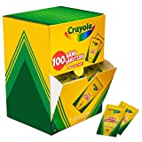 Crayola Pocket Hand Sanitizer for Kids, Box of 100 Single-Use Sanitizer Gel Packets, 2 ml ea.
