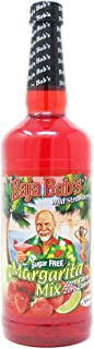 Baja Bob's STRAWBERRY MARGARITA Cocktail Mix, Sugar Free, 32 oz, Cocktail Mixer