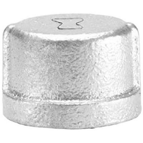 Anvil 8700132601, Steel Pipe Fitting, Cap, 3/8 NPT Female, Galvanized Finish by Anvil International