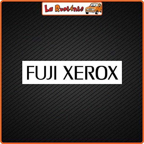 La Ruotante 2 Stickers Fuji XEROX 10x2,5 Cm