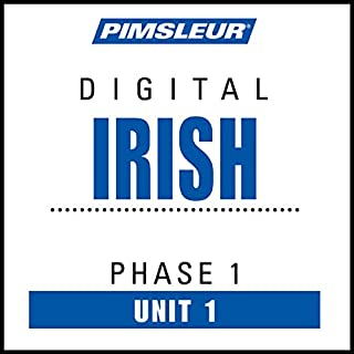 Irish Phase 1, Unit 01 audiobook cover art