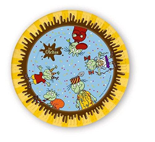 Olchi Pappteller (8 Stück) (Die Olchis)