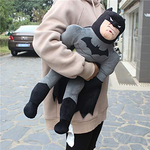 xuritaotao Superheld Batman Plüschtiere 23.6Inches Batman Figur Gefüllte Plüsch Weiche Puppe Für Jungen Geschenk 1 Stücke 60 cm