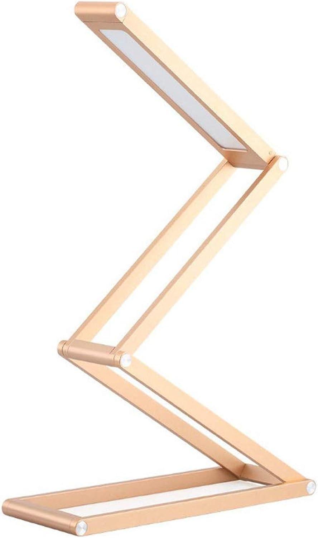 A Table lamp Tragbare Schreibtisch-   Arbeitsleuchte Mit Wiederaufladbarer Kabelloser, Faltbarer Lampe Mit 3 Beleuchtungsmodus-Auswahl Geeignet Zum Lesen Entspannen Schlafen