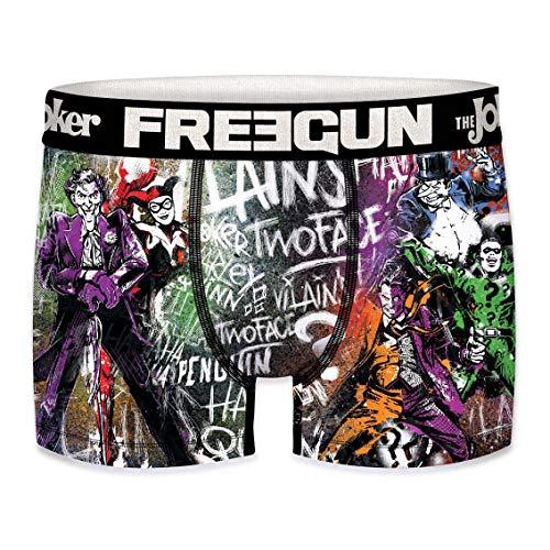 FREEGUN DC Comics - Calzoncillos bóxer para Hombre S