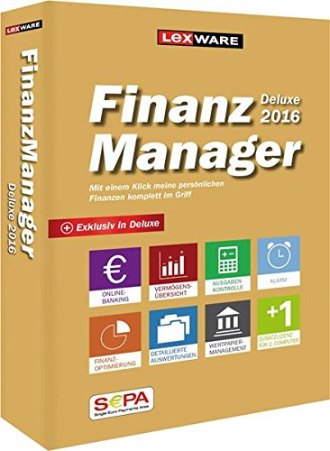 Lexware FinanzManager 2016 Deluxe (Minibox)