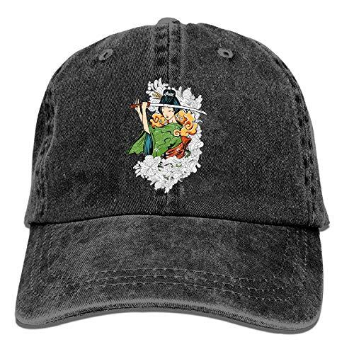 Etxhu, Baseballkappe, Trucker-Kappe, verstellbar, für Jugendliche und Cowboy-Golfschläger Gr. Einheitsgröße, Samurai4