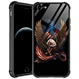 iPhone 6S Case,Patriotic Eagle iPhone 6 Cases for Men Boys,Shockproof Anti-Scratch Soft TPU Pattern Design Case for Apple iPhone 6/6s Patriotic Eagle