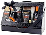 BRUBAKER Cosmetics Spa Sport Musk 8 tlg. Pflegeset für Männer mit Duschgel, Shampoo, Deo,...