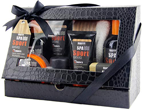 BRUBAKER Cosmetics - Coffret de bain & douche - Men's Spa...